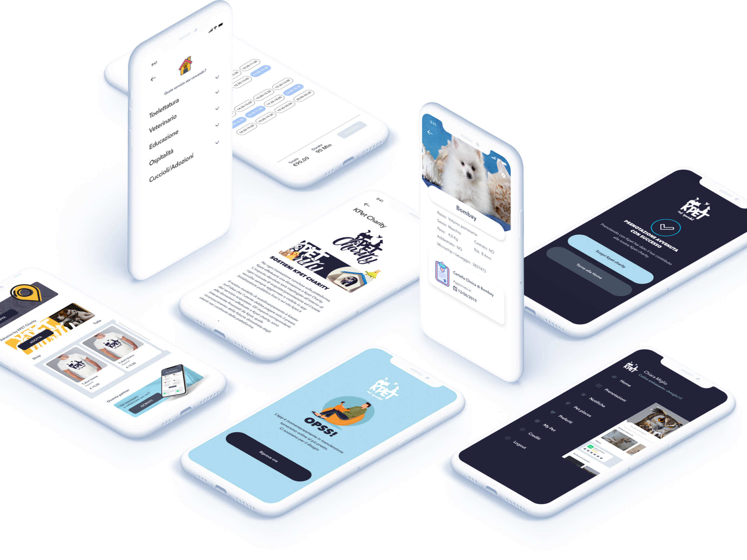 Kpet - App utente - Carpediem srl