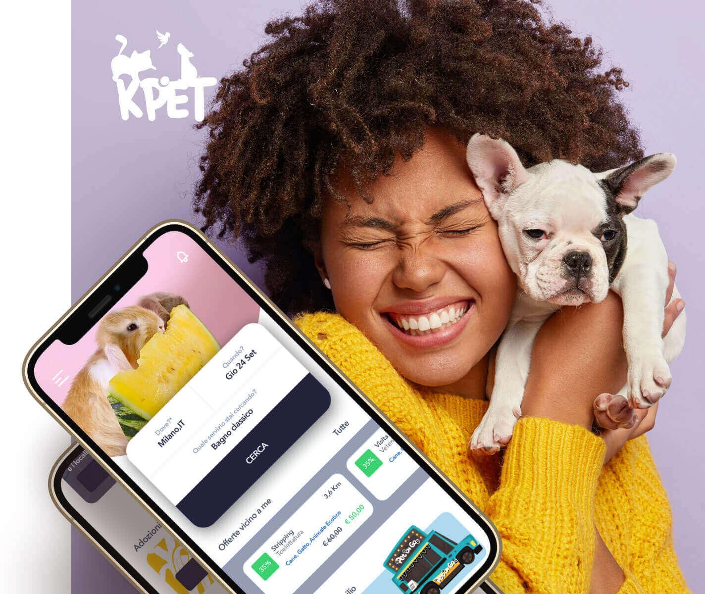 Kpet - booking app for petcare services - Carpediem srl